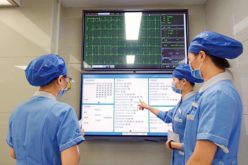 摩登5注册:智慧医院 病房一环打通